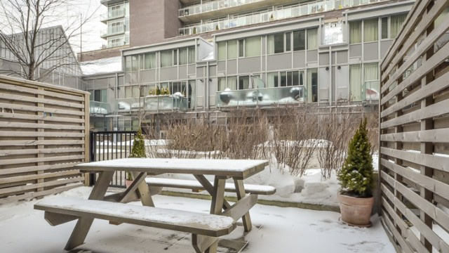 201 Carlaw Ave Unit 102, Toronto Condo For Sale